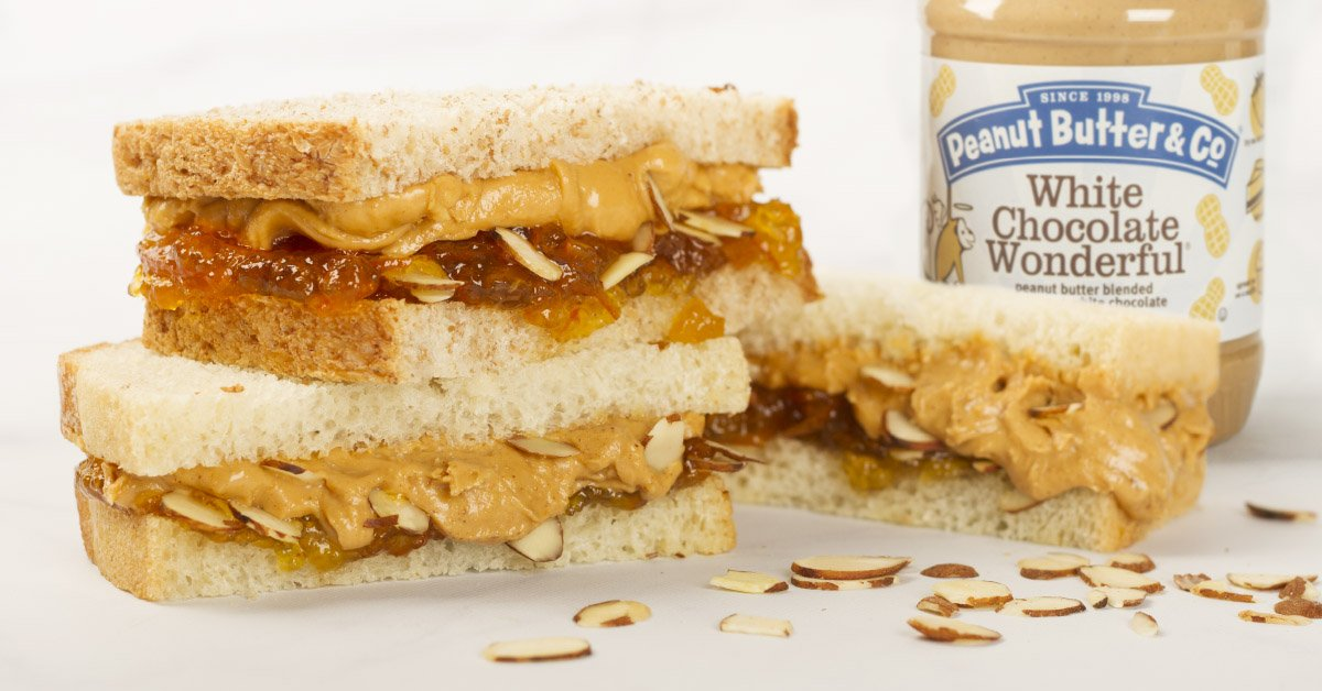 Peanut Butter & Co. Sandwich Shop: The White Chocolate Wonderful Sandwich