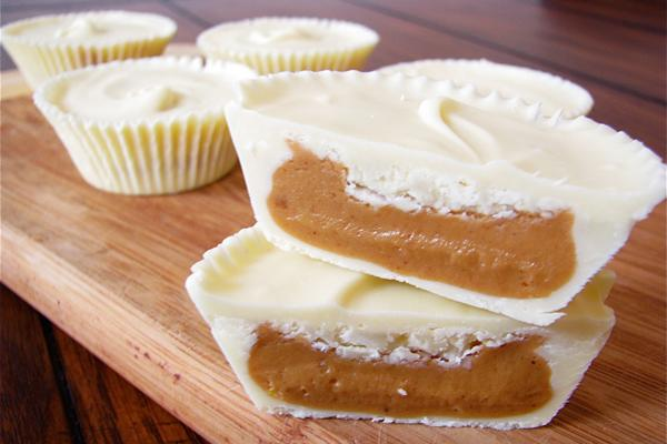 White Chocolate Peanut Butter Cups