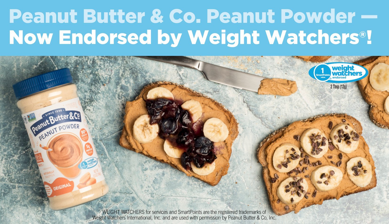Try Mighty Nut Powdered Peanut Butter