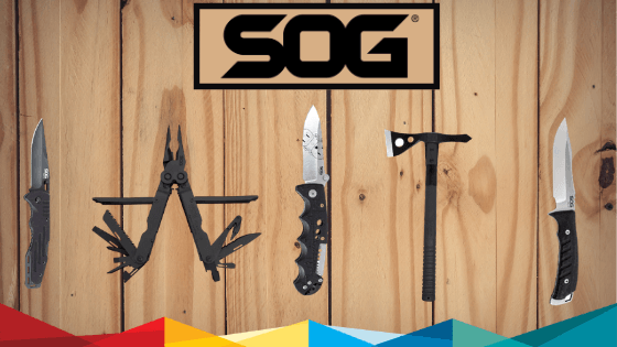 Unleash Your Inner Outdoorsman with SOG Knives