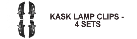 kask zenith accessories - lamp clips