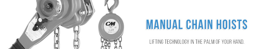 Manual Chain Hoist - Hand Hoist & Lever Hoist