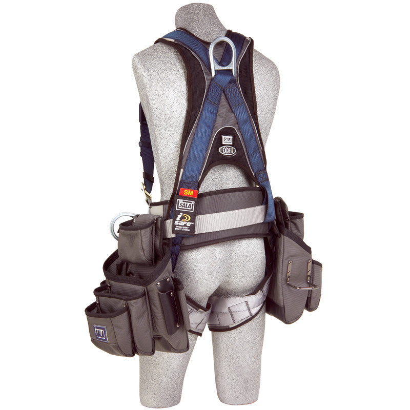 3M™ DBI-SALA® ExoFit™ Construction Vest-Style Harness with Tool Pouches  (1108519)