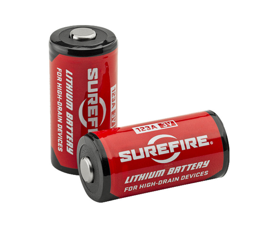 Surefire 123a Lithium Batteries Mtn Shop