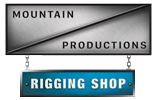 Mountain Productions Rigging Shop
