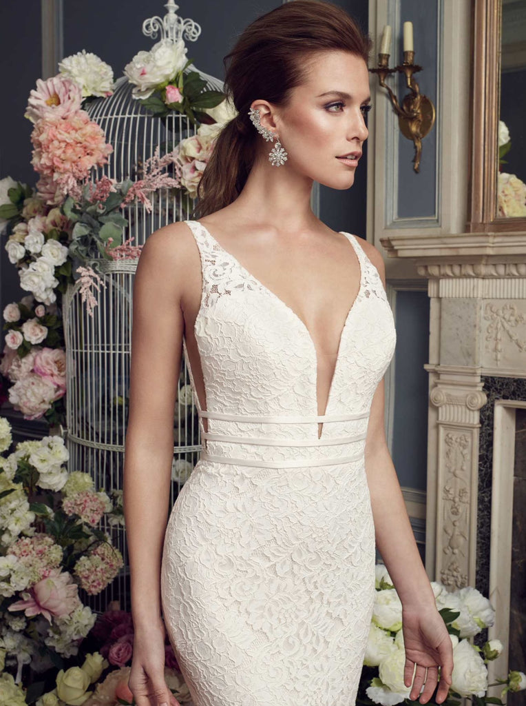 Mikaella - 2154 - Wedding Dress - Novelle Bridal Shop