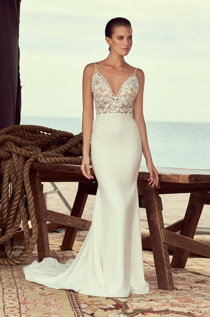 Mikaella - 2190 - Wedding Dress - Novelle Bridal Shop