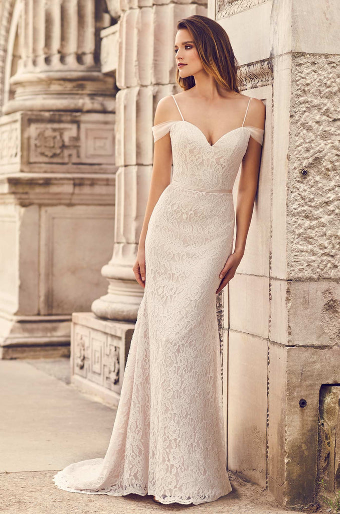 Mikaella - 2228 - Wedding Dress - Novelle Bridal Shop
