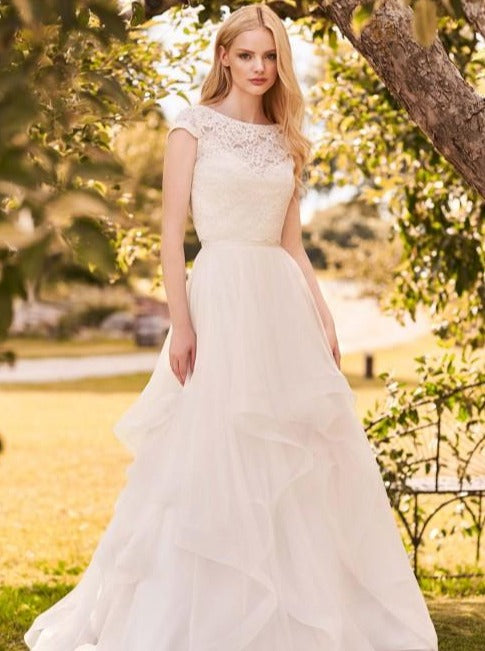 Mikaella - 2293 - Wedding Dress - Novelle Bridal Shop