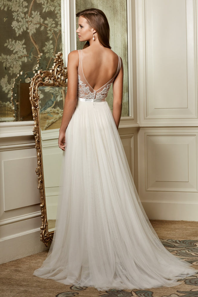 Wtoo by watters persiphone 13614 novelle bridal shop for Wedding dress shops in dc