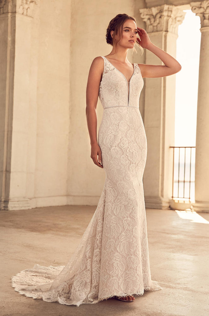Paloma Blanca - 4792 - Wedding Dress - Novelle Bridal Shop