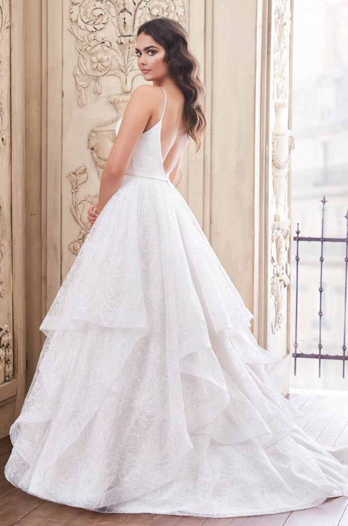 Paloma Blanca - 4858 - Wedding Dress - Novelle Bridal Shop