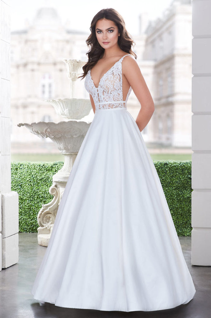 Paloma Blanca - 4862 - Wedding Dress - Novelle Bridal Shop