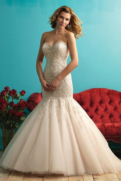 Allure - 9275 - Wedding Dress - Novelle Bridal Shop