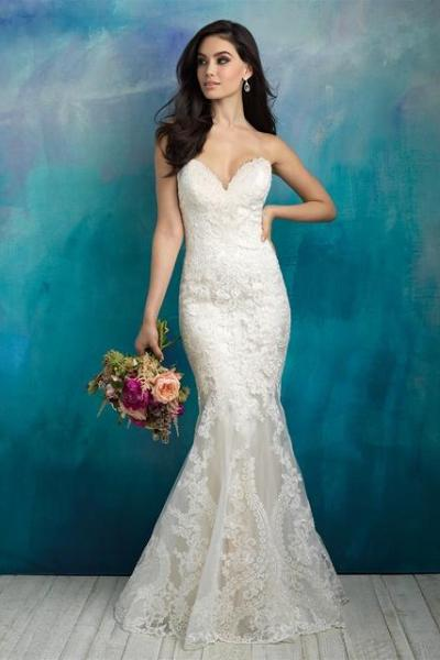 Allure - 9516 - Wedding Dress - Novelle Bridal Shop