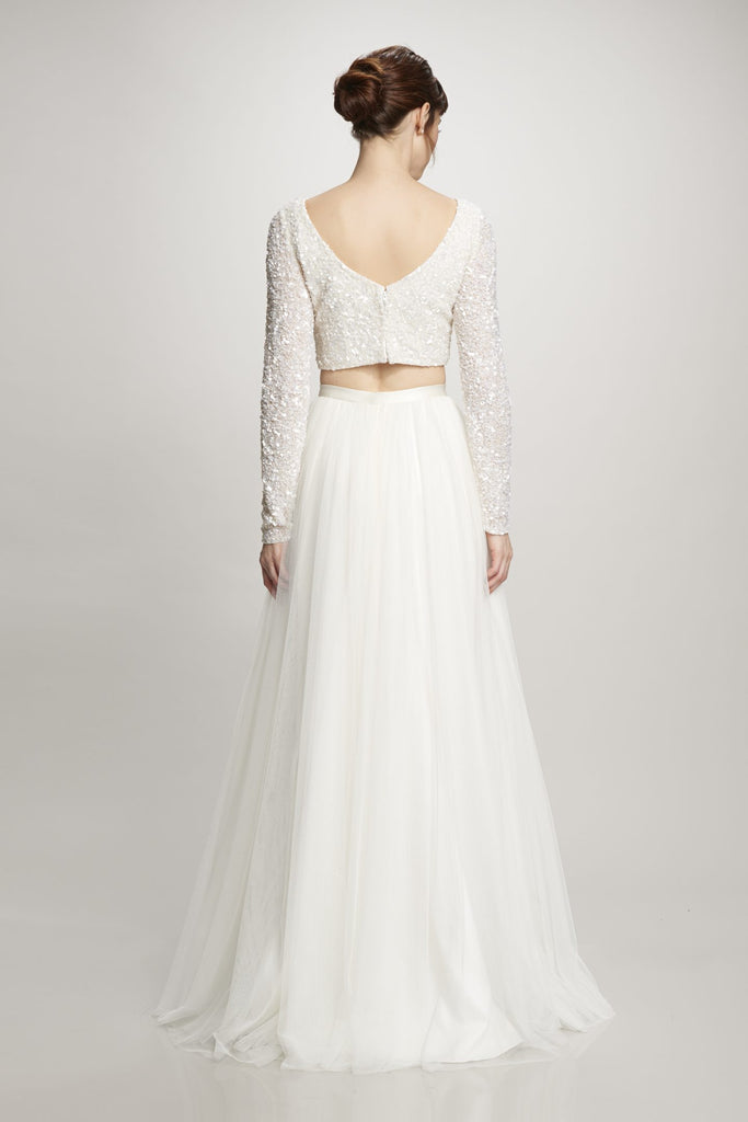 Theia - Ruby Top - Wedding Dress - Novelle Bridal Shop