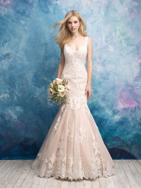 Allure - 9562 - Wedding Dress - Novelle Bridal Shop