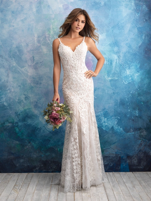 Allure - 9575 - Wedding Dress - Novelle Bridal Shop
