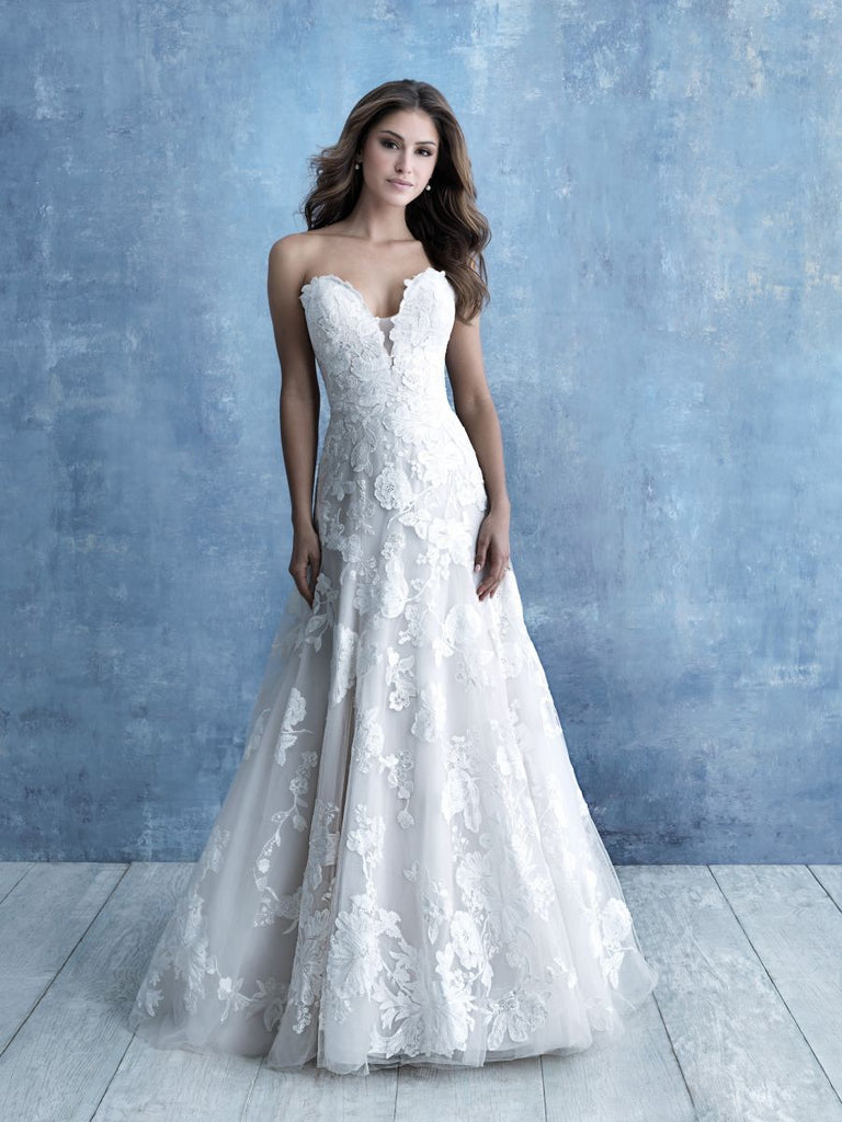 Allure - 9708 - Wedding Dress - Novelle Bridal Shop