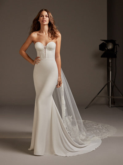 Pronovias - Antares - Wedding Dress - Novelle Bridal Shop