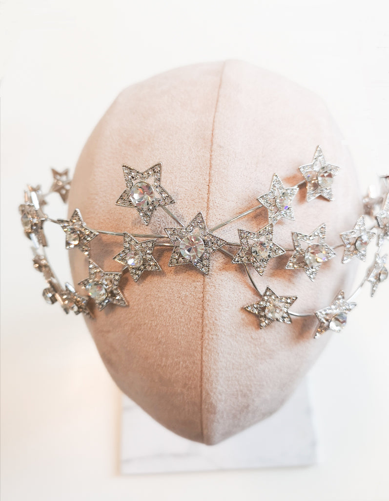 Malis Henderson - Star Hair Crown - 8194 - accessories - Novelle Bridal Shop