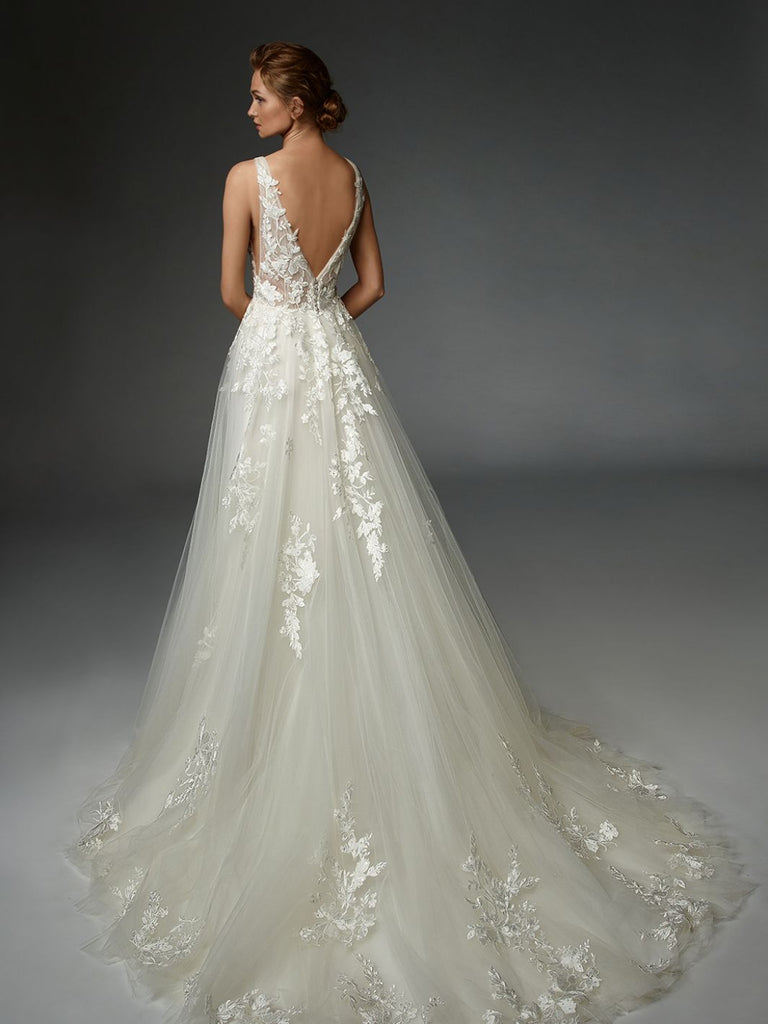 ÉLYSÉE - Lorraine - Wedding Dress - Novelle Bridal Shop