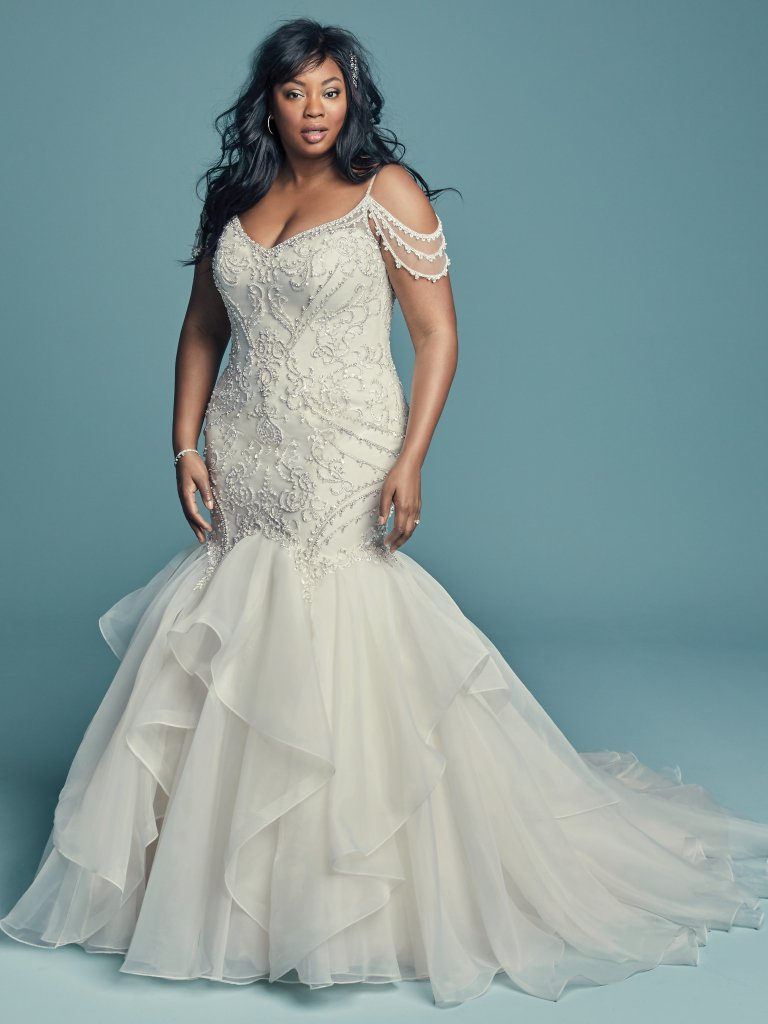 Curve Size Samples - Brinkley Lynette- Maggie Sottero - Wedding Dress - Novelle Bridal Shop