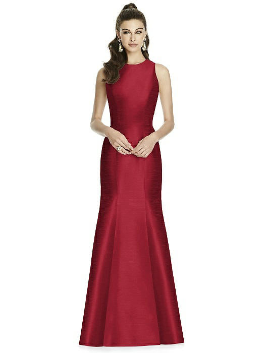 Alfred Sung - D734 - Bridesmaid Dress - Novelle Bridal Shop