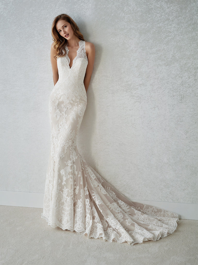 White One - Familia - Wedding Dress - Novelle Bridal Shop