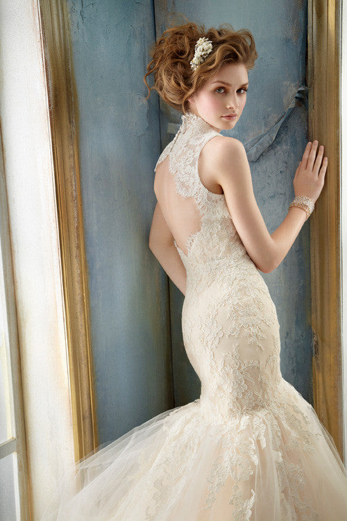 Jim Hjelm - 8214 - Wedding Dress - Novelle Bridal Shop