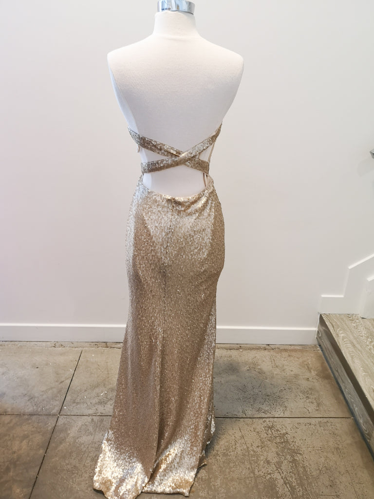 Kim by Theia Bridesmaids (Size 10)