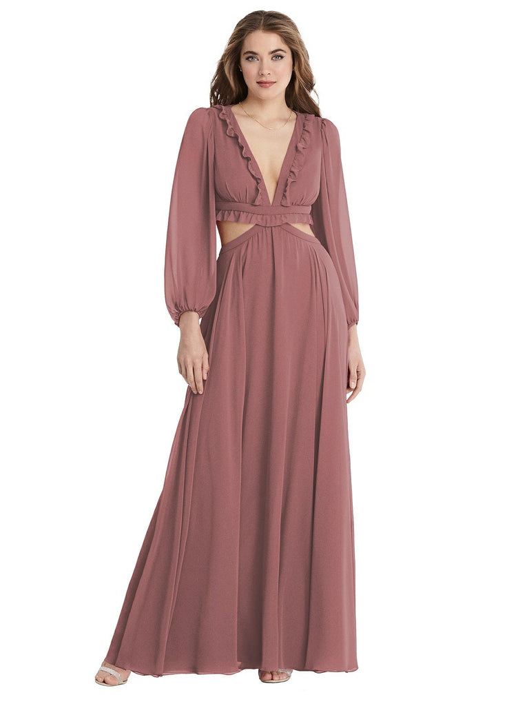 Dessy Collection - LB015 - Bridesmaid Dress - Novelle Bridal Shop