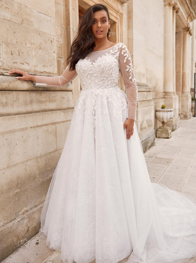 Plus Size Samples - Marseille- Madi Lane - Wedding Dress - Novelle Bridal Shop