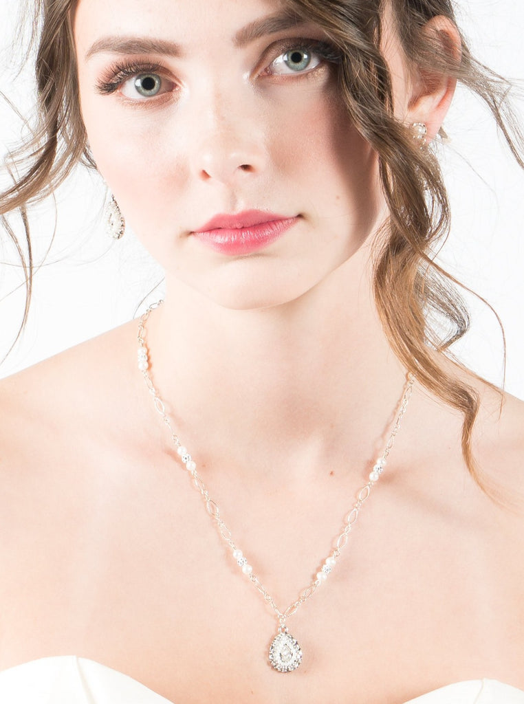 Lovebird Collection - Alba Necklace - accessories - Novelle Bridal Shop