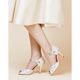 Rachel Simpson - Ivory Leather Mimosa - accessories - Novelle Bridal Shop