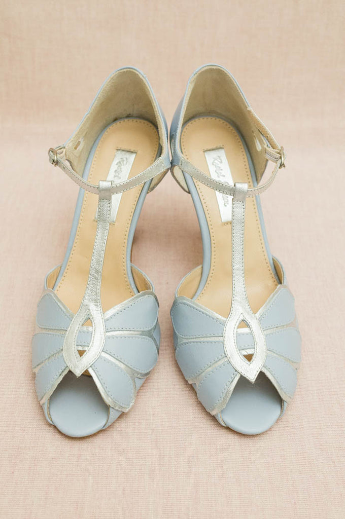 Rachel Simpson - Powder Blue Mimosa - accessories - Novelle Bridal Shop