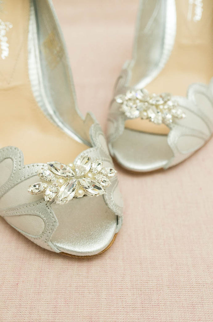 Rachel Simpson - Petal Shoe Clip - accessories - Novelle Bridal Shop