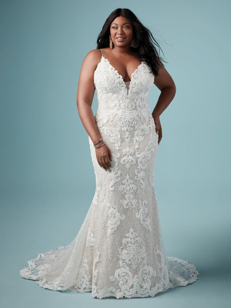 Plus Size Samples - Tuscany Lynette- Maggie Sottero - Wedding Dress - Novelle Bridal Shop