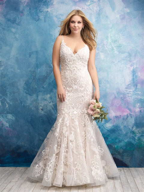Plus Size Samples - W430- Allure Women - Wedding Dress - Novelle Bridal Shop