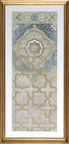 EMBELLISHED TAPESTRY I
