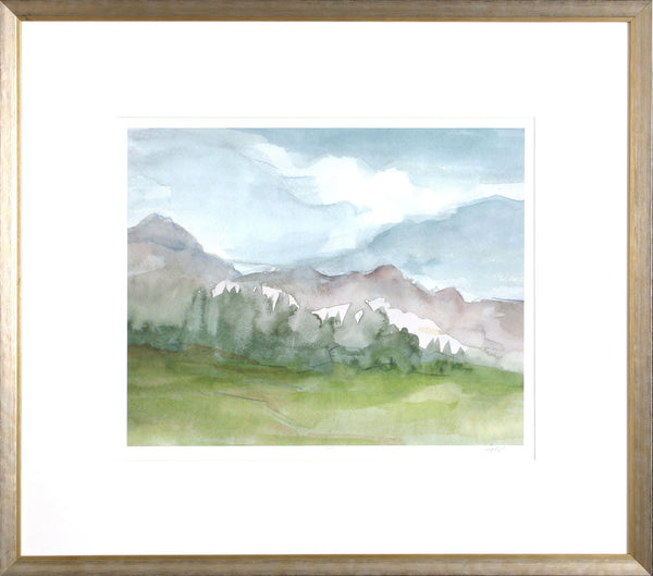 PLEIN AIR MOUNTAIN VIEW II
