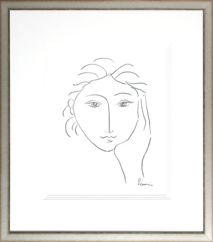 WOMAN'S FACE SKETCH II