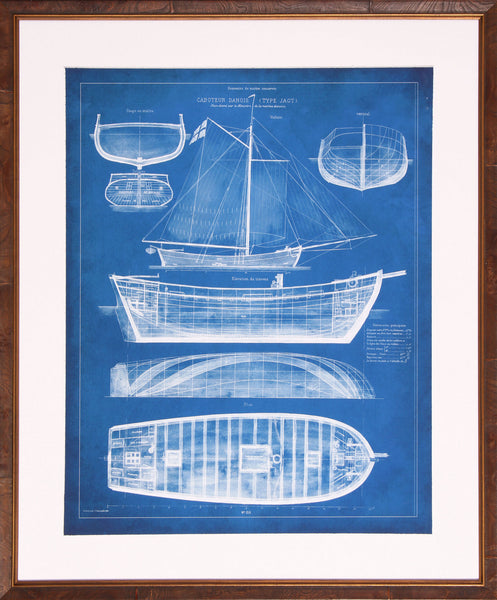 Antique Ship Blueprint II