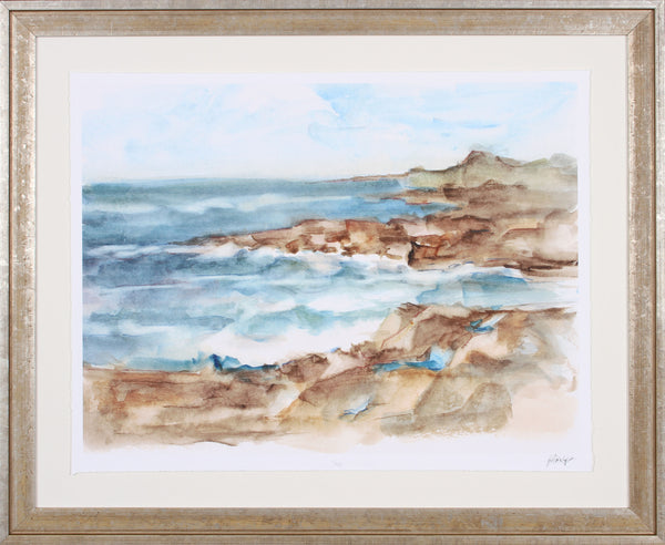 COASTAL WATERCOLOR VI