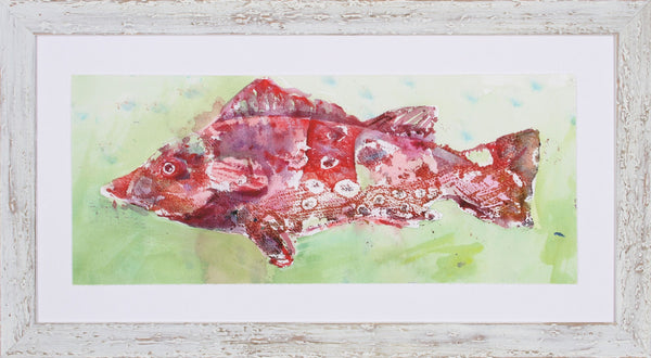 SPECKLED FISH I