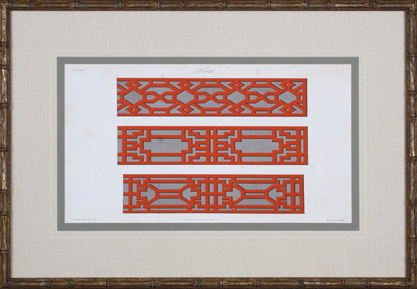 GRAPHIC FRETWORK I