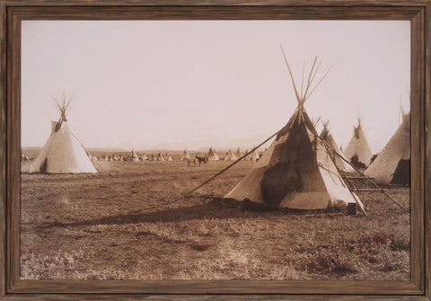 BLACKFOOT ENCAMPMENT