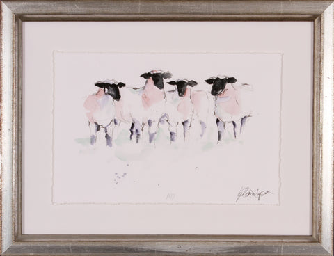 WATERCOLOR SHEEP II