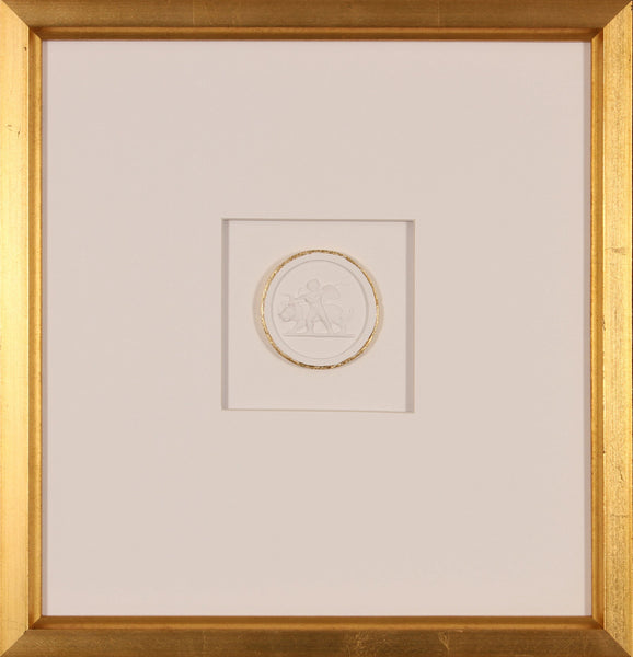 INTAGLIO WITH GOLD 1