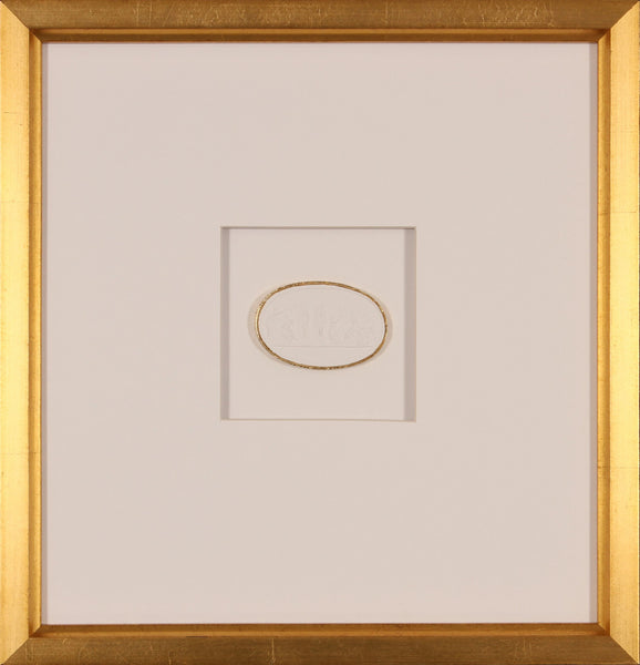 INTAGLIO WITH GOLD 5